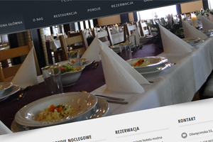 Strona internetowa - Weranda Restaurant & Rooms