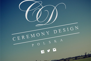 Strona internetowa - CeremonyDesign